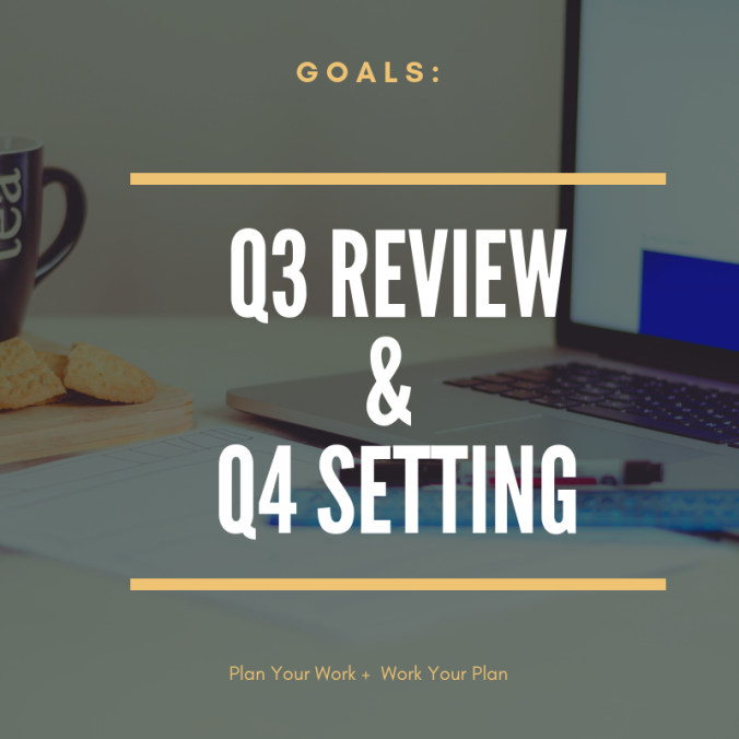 Goal Setting + Review